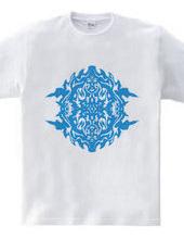 「魂の核 Blue」スピリチュアルデザイン