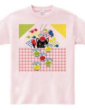 猫と林檎と金魚鉢