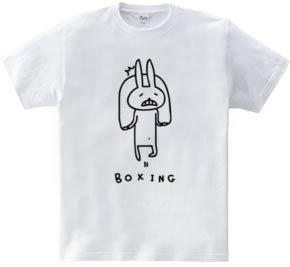 ボクシング ウサギの縄跳び