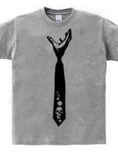 Strangle tie (skull)