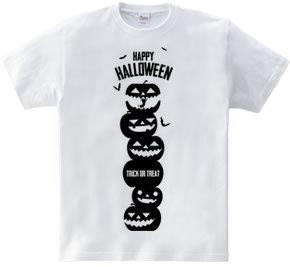 ハロウィン 黒猫 Halloween black cat【縦バージョン】