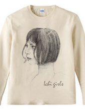 ichi girl series 'Bob cut girl