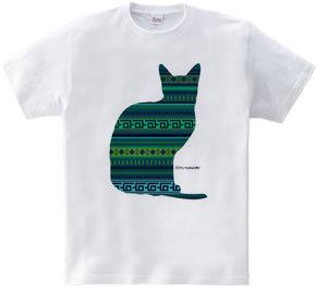 mexican cat_blue