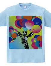 キリンTシャツ