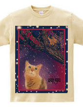 Frog and cat t-shirt