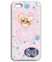 polka-dot pattern cat-Iphone case.