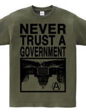 NEVER TRUST A GOVERNMENT