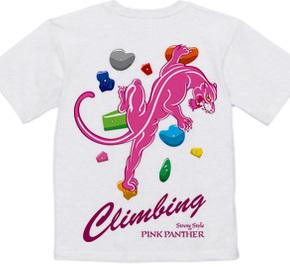 Climbing Pink Panther