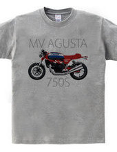 The MV AGUSTA 750S design 02