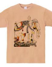 タイ国寺院の「白象」 TYPE-01
