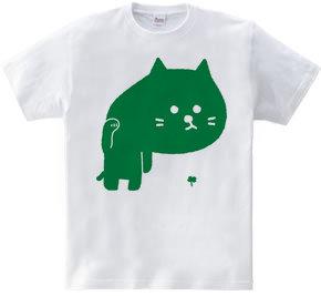 招き猫背(緑)