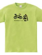 ロードレース・自転車 サドルを盗まれるパンダ