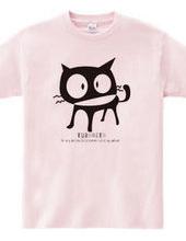 人好きな黒猫★ゆるキャラにゃんこ_オリジナルイラスト