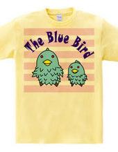 青い鳥の親子