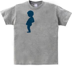 汗じみアートTシャツ ジュリアン