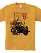 A Harley landscape  DESIGN / A Route66