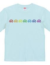 GSP ロゴ レインボー Tシャツ