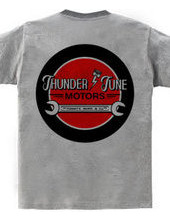 tuning shop logo thunder tune motors