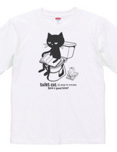 Toilet cat