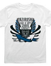 矢印→バンドTシャツ