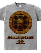 Skull Iron-cross Gold