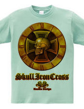 Skull Iron-cross Gold