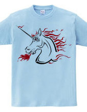 Tribal Unicorn (hard red)