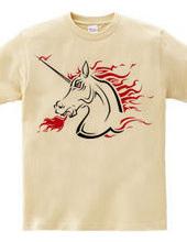 Tribal Unicorn (hard red)