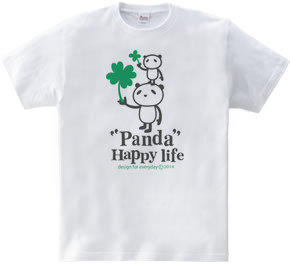 パンダとクローバー【両面】