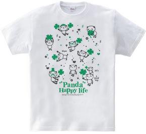 パンダとクローバー【片面】