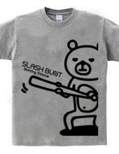BASEBALL -slash bunt bear