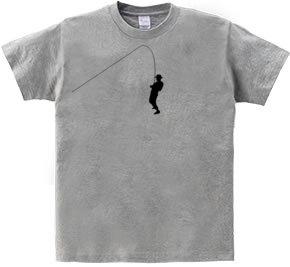 汗じみアートTシャツ フィッシング
