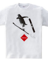 スキージャンプのペンギンくん★挑戦するアニマルシリーズ C