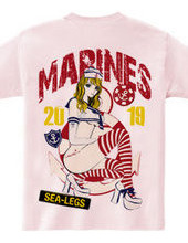 Sailor Girl セーラー ガールプリント