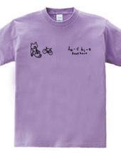 ロードレース・自転車 クマとエアロスーツ