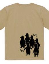 ペンギン集団・両面