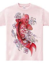 ガラスの赤鯉