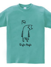 直角のネコ