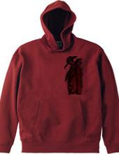赤いジャケットの男
