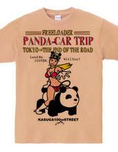 PANDA-CAR TRIP