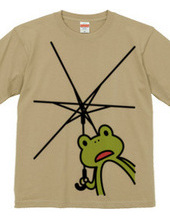 あなたを傘に -カエル-