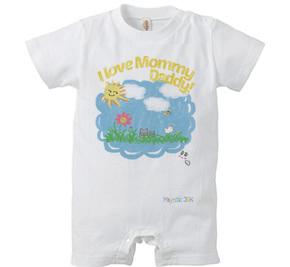 ロンパース/ I love Mommy,Daddy!