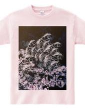 魑魅魍魎と桜