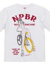 NO PANTS BIKE RIDE 自転車 ガールプリント