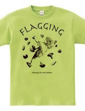 climbing move flagging