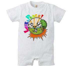 ロンパース/ Love & Peace