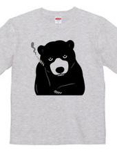 Beleaguered bear