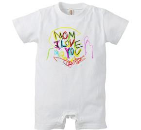 ロンパース/ MOM I love you
