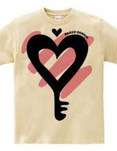 Heart & key 01