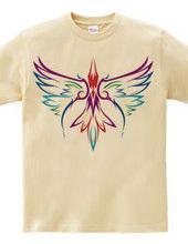 フェニックス (tribal colorful)